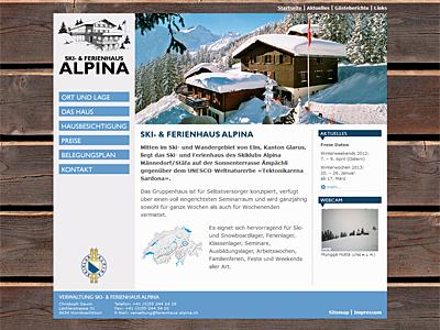 Ski- und Ferienhaus Alpina
